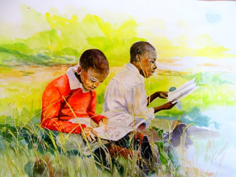 DSC04943 african water color painting