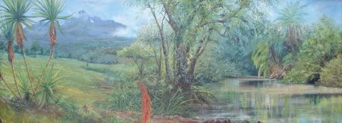 Mt-kenya-landscape-1 african nature painting